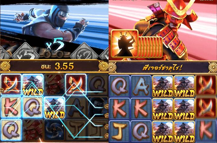 ninja samurai pg slot