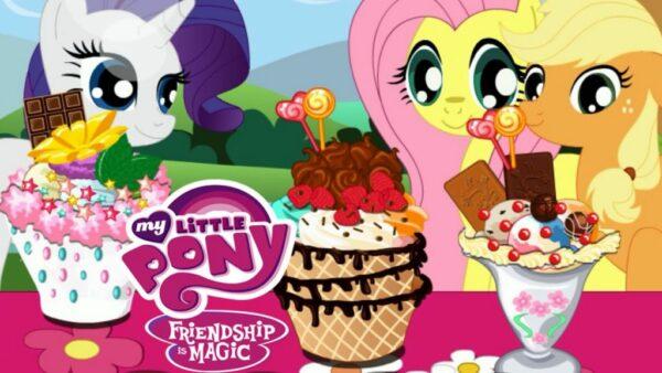เกม Little Pony Ice Cream Game
