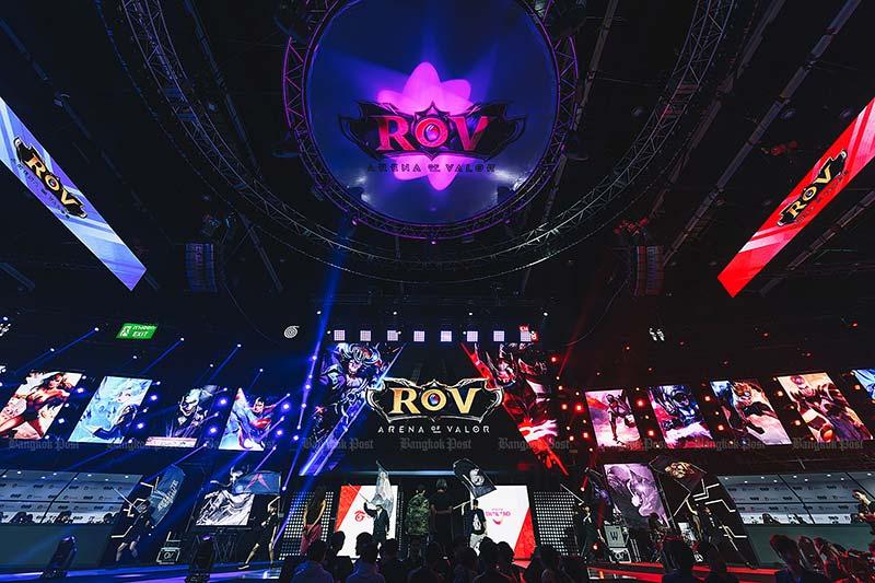 การแข่งขัน Rov