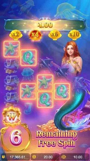 รีวิวเกมสล็อต Mermaid Riches PGSLOT