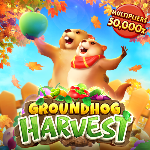 สล็อตกระรอกดิน Groundhog Harvest PGSLOT
