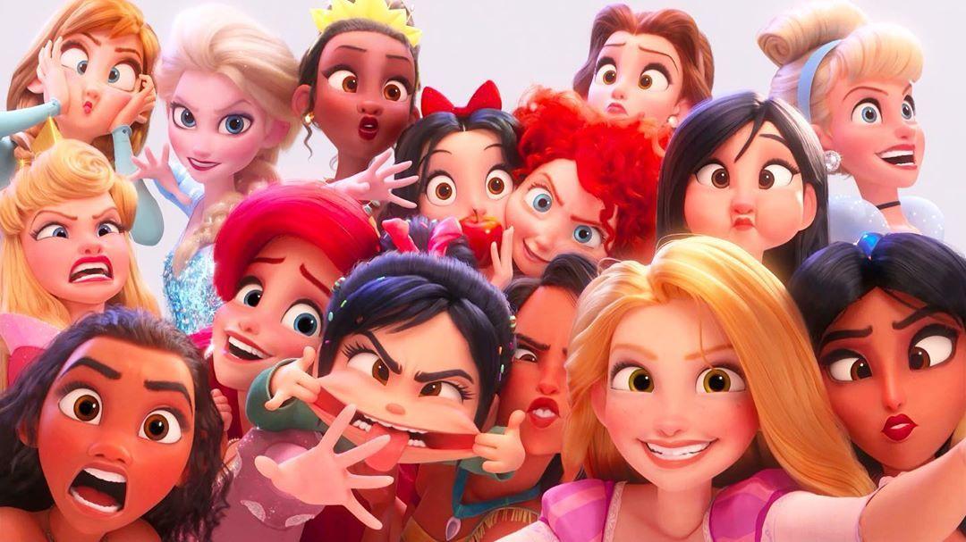 เกม Disney Princess Selfie