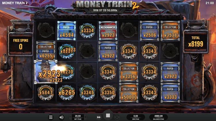 เกมสล็อตรถไฟ Money Train 2