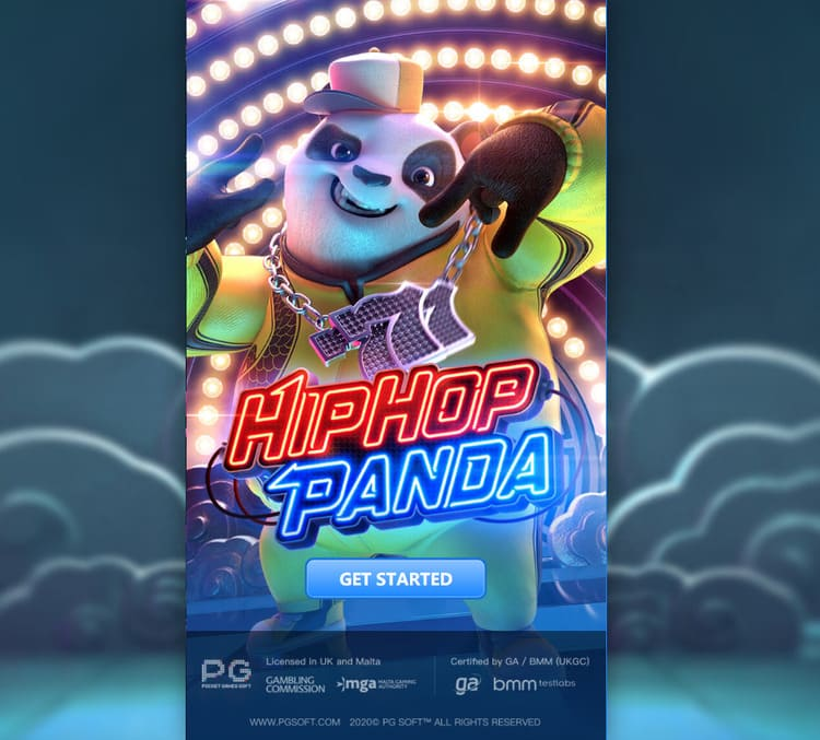 เกมสล็อต Panda Hip Hop PG SLOT