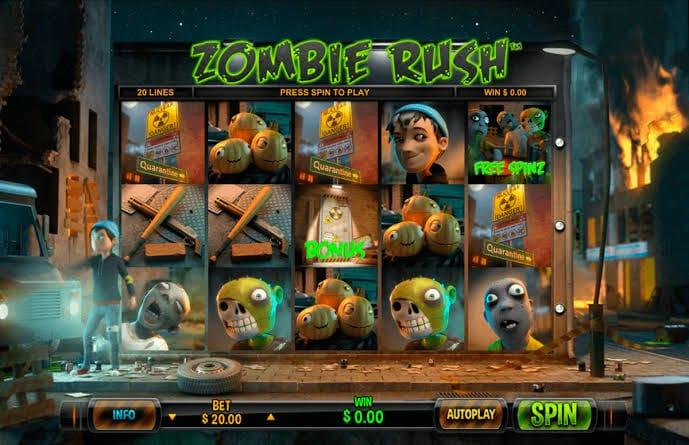 เกมซอมบี้ Zombie Rush