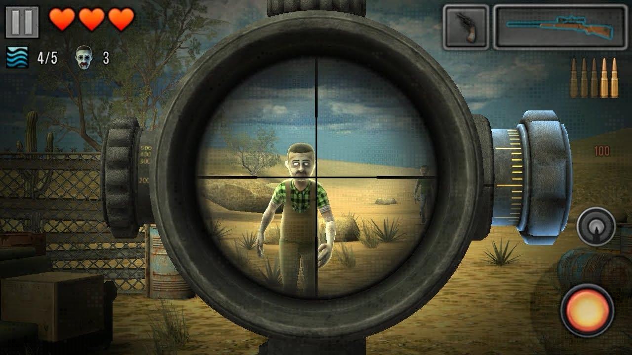 เกม Zombie Sniping 3D